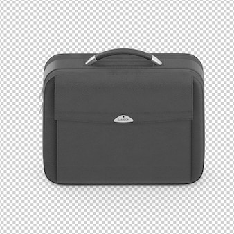 Isometric laptop case