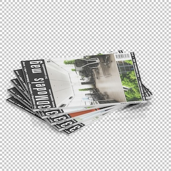 Isometric magazines