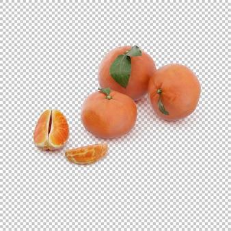 Isometric  mandarins