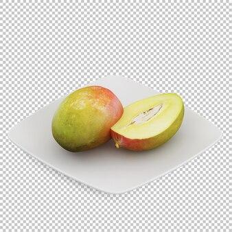 Isometric mango