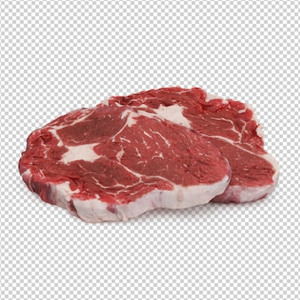 Isometric meat