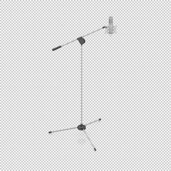 Isometric microphone