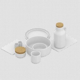 Isometric milk