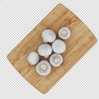 Isometric mushrooms