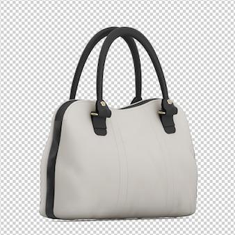 Изометрическая офисная сумка