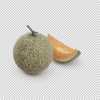 Isometric pineapple