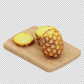 Isometric pineapples