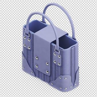 Isometric purse