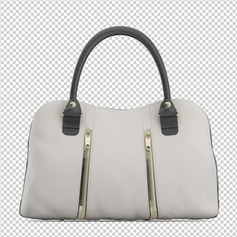 Isometric purse