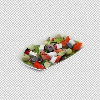 Изометрический салат