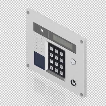 Isometric secure