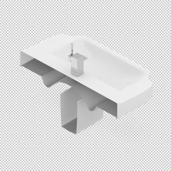 Isometric sink