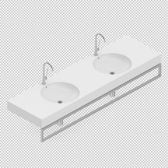Isometric sinks