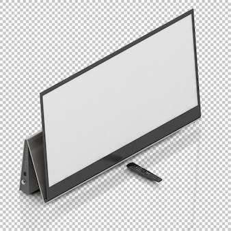 Isometric smart tv