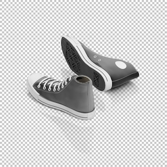 Isometric sneakers