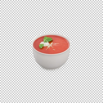 Isometric soup