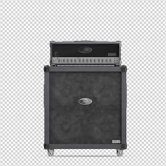 Isometric speaker