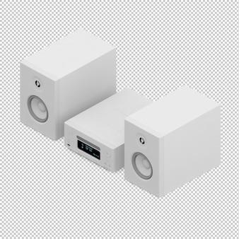 Isometric speakers