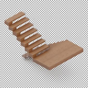 Isometric stairs