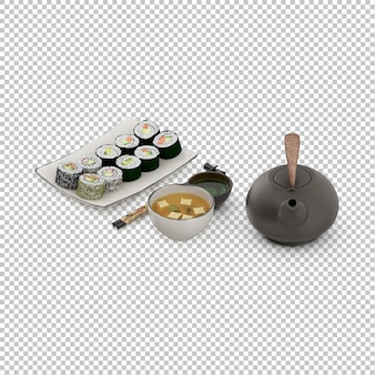 Изометрические суши