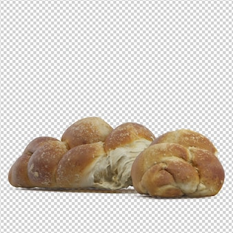 Isometric sweet bread