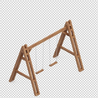 Isometric swing bench