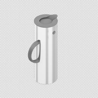 Isometric thermos