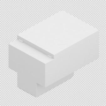 Isometric toilet