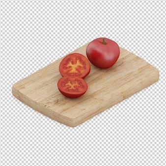 Isometric  tomato