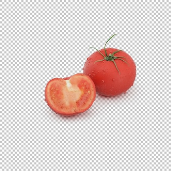 Isometric tomatos