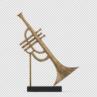 Isometric trumpet