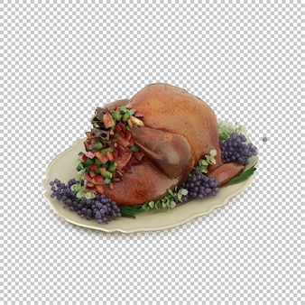 Isometric turkey