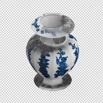 Isometric Vase
