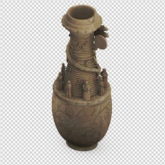 Изометрическая ваза