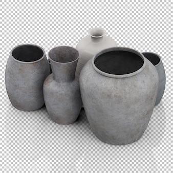 Isometric Vases