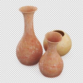 Изометрические вазы