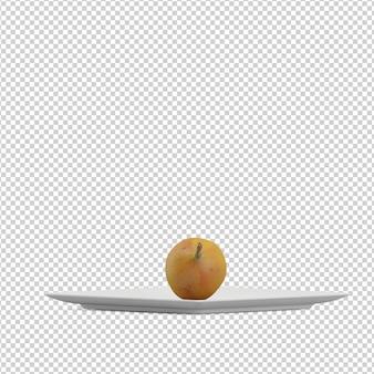 Isometric vegetable