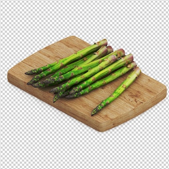 Isometric vegetables