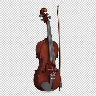 Isometric violin