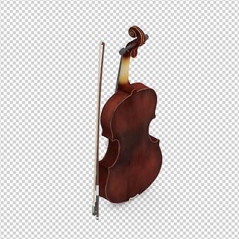 Isometric violin