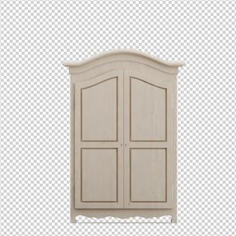 Isometric wardrobe