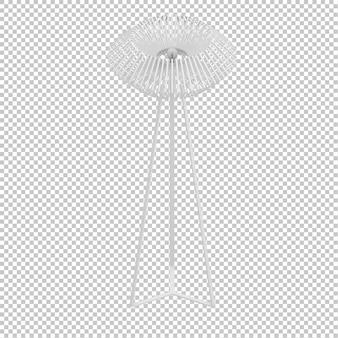 アイソメ白ランプ
