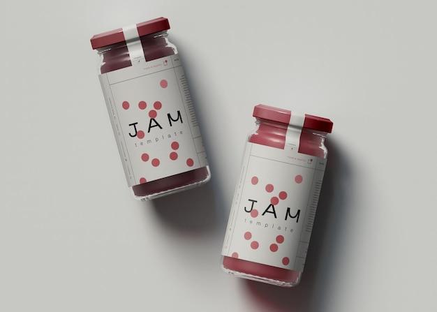 Jam jar 모형