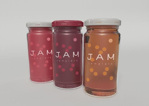 Мокапы jam jar