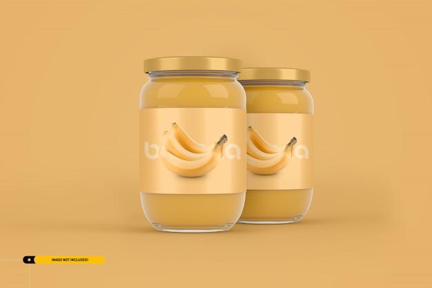 Jam jar упаковочный макет
