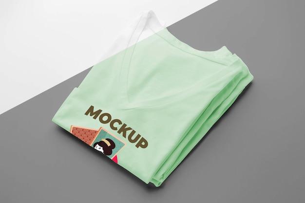 Состав макета японской футболки