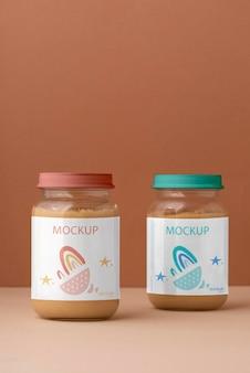 離乳食の手配が可能な瓶