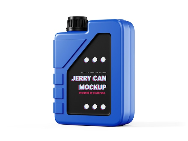 Jerry can mockup template