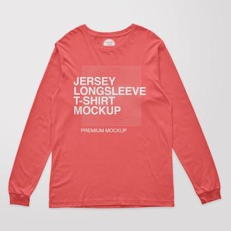 Jersey longsleeve tshirt mockup