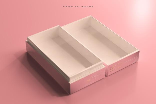 보석 또는 선물 상자 모형